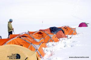 Camp 2 on Shishapangma
